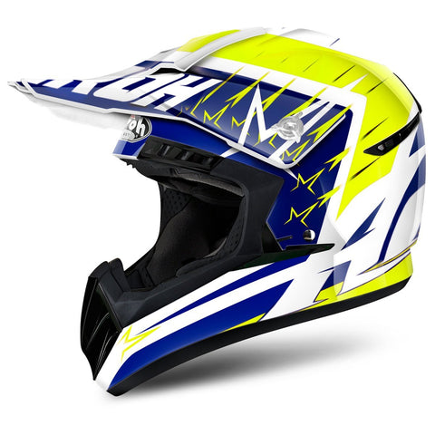 Airoh Switch Motocross Helmets 2018 Airoh Switch Motocross Helmet - Startruck Yellow Gloss