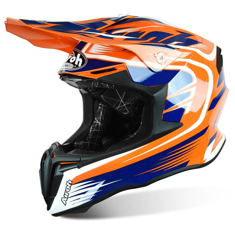 Airoh Twist Motocross Helmet 2018 Airoh Twist Motocross Helmet - Mix Orange