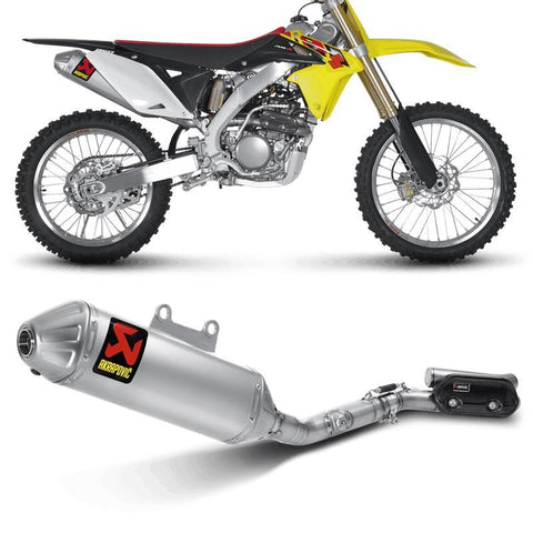 Akrapovic Motocross Exhausts Akrapovic Raceline Exhaust Stainless / Titanium Silencer -Suzuki - RM 250 Z 2010 Onwards
