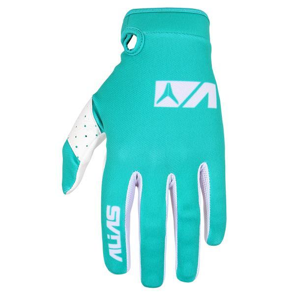 Alias Motocross Gloves 2018 Alias AKA Lite MX Motocross Gloves - Seafoam