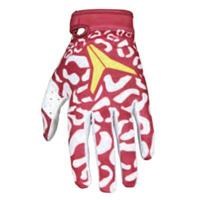 Alias Motocross Gloves 2018 Alias YOUTH AKA Cheetah MX Motocross Gloves - Maroon White