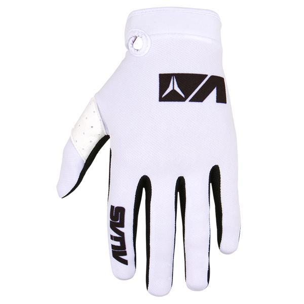 Alias Motocross Gloves 2018 Alias YOUTH AKA MX Motocross Gloves - White