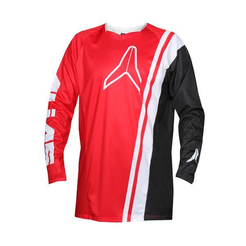 Alias Motocross Jerseys 2018 Alias A1 Offset MX Motocross Jersey - Red / Black