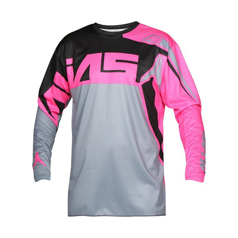 Alias Motocross Jerseys 2018 Alias A2 Burst MX Motocross Jersey - Grey / Pink