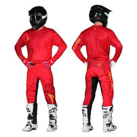 Alias Motocross Kit Combos 2018 Alias A2 Trifecta MX Motocross Kit Combo - Red / Red