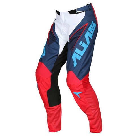 Alias Motocross Pants 2018 Alias A1 Classic MX Motocross Pants - Navy / Red