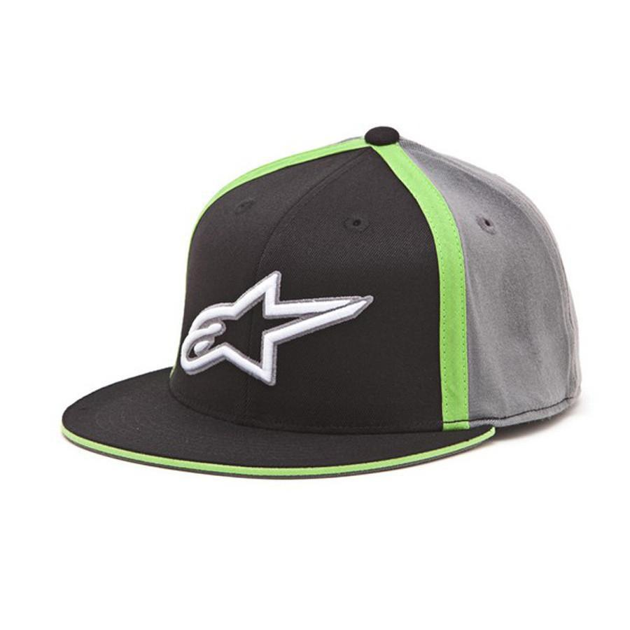 Alpinestars Casual Wear S/M Alpinestars Premium Juxaposed Flatbill Cap - Green
