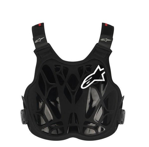 Alpinestars Motocross Body Protection Alpinestars A8 Light Youth BNS Chest Protector - Black White Red