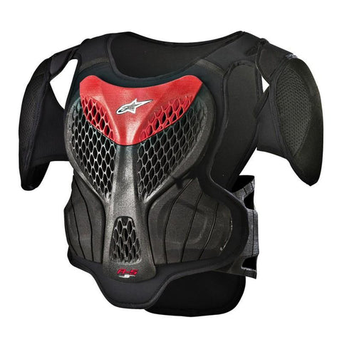Alpinestars Motocross Body Protection L/XL 2018 Alpinestars YOUTH A5-S Body Armour - Black / Red