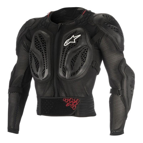 Alpinestars Motocross Body Protection L/XL 2018 Alpinestars YOUTH Bionic Action MX Jacket - Black / Red