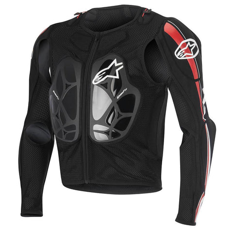 Alpinestars Motocross Body Protection Small 2016 Alpinestars Bionic Pro BNS Protection MX Jacket - Black White Red