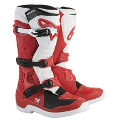 2018 Alpinestars Tech 3 Motocross Boot - Red White