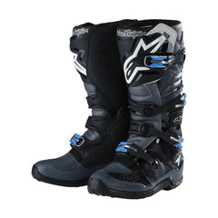 2018 Alpinestars / TLD Tech 7 Motocross Boot Grey / Black