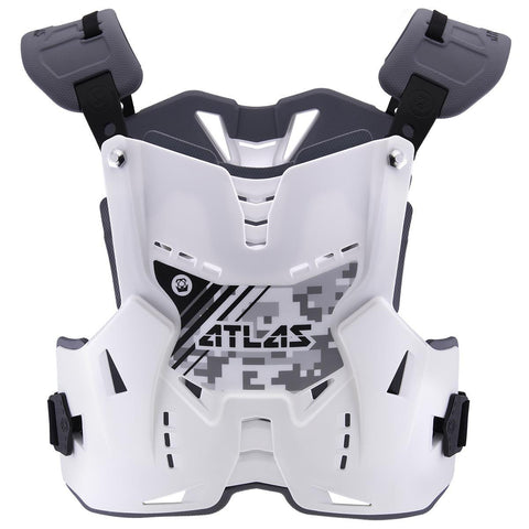 Atlas Motocross Body Protection 2017 Atlas Defender YOUTH Motocross Body Armour - Digital Arctic