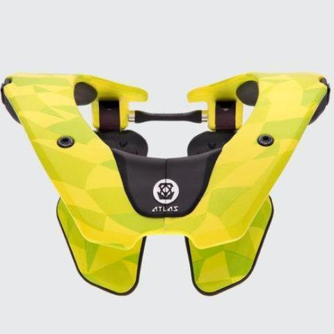 Atlas Motocross Neck Braces 2018 Atlas Air Motocross Neck Brace - Neon Prism