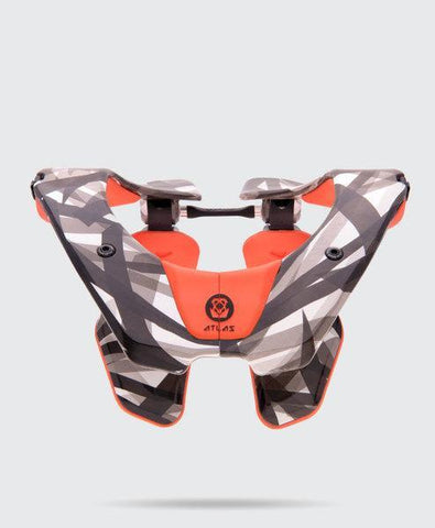 Atlas Motocross Neck Braces 2018 Atlas Air Motocross Neck Brace - Orange Laser