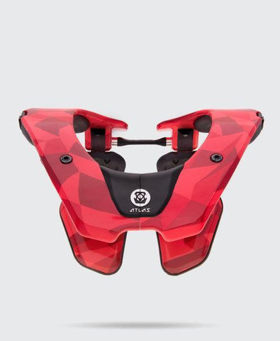 Atlas Youth Motocross Neck Braces 2018 Atlas Prodigy YOUTH Motocross Neck Brace - Fire Prism