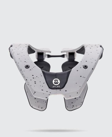 Atlas Youth Motocross Neck Braces 2018 Atlas Prodigy YOUTH Motocross Neck Brace - Grey Speck