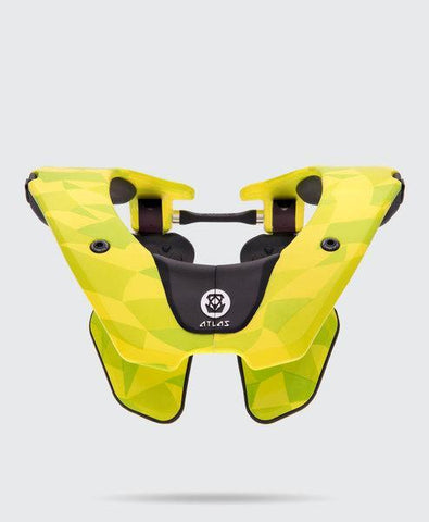 Atlas Youth Motocross Neck Braces 2018 Atlas Prodigy YOUTH Motocross Neck Brace - Neon Prism