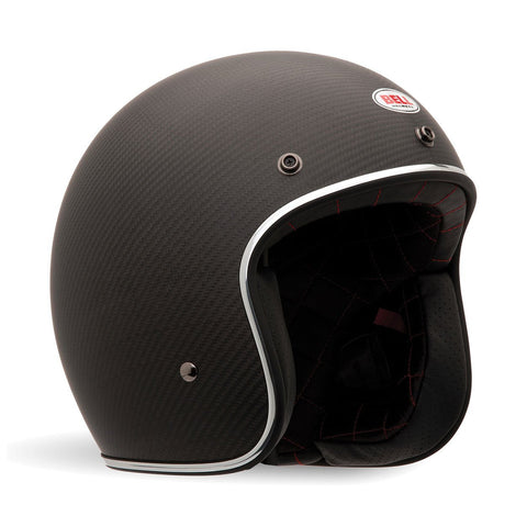 Bell Road Helmets 2018 Bell Custom 500 Carbon Road Helmet - Matte Black