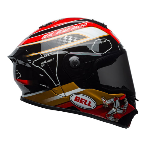 Bell Road Helmets 2018 Bell Star MIPS Road Helmet - Isle Of Man 18.0 Black/Gold