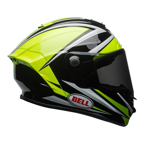 Bell Road Helmets 2018 Bell Star MIPS Road Helmet - Tortion Gloss Hi-Vis Green/Black
