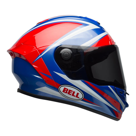 Bell Road Helmets 2018 Bell Star MIPS Road Helmet - Tortion Gloss Red/Blue