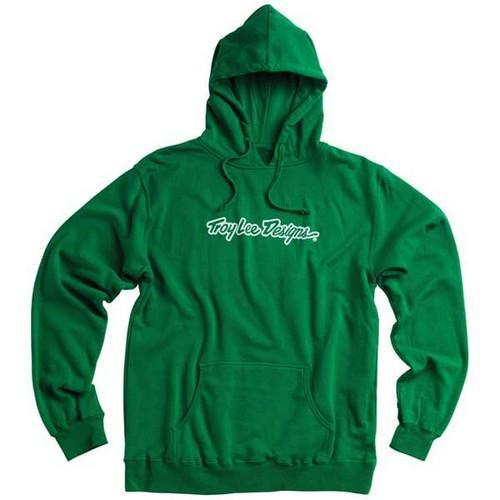 Casual S Troy Lee Signature Hoody - Green