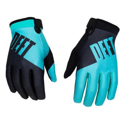 Deft Family 8 (S) 2016 Deft Family MX Motocross Gloves Eqvnt Choice - Teal Black