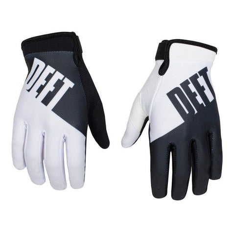 Deft Family 8 (S) 2016 Deft Family MX Motocross Gloves Eqvnt Choice - White Black