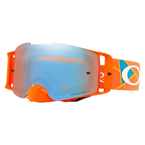 Oakley Front Line Goggles TLD Signature Metric Red/Orange W/Prizm Sapphire Lens