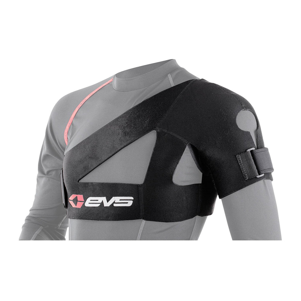 EVS Motocross Body Protection Default Title EVS Adult SB02 Shoulder Support - Black