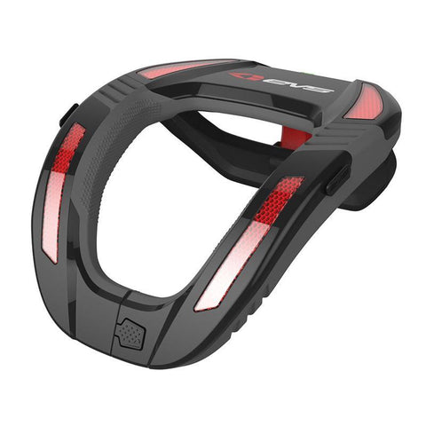 EVS Motocross Body Protection EVS Adult R4K Koroyd Neck Protector - Black / Red