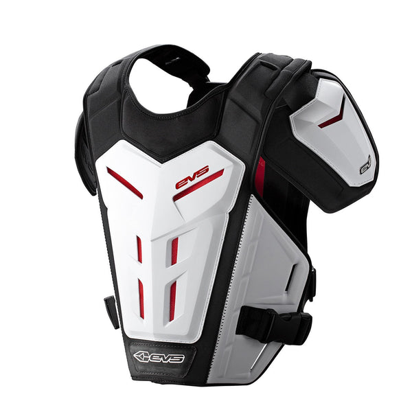 EVS Motocross Body Protection EVS Adult Revo 5 Under Armour - White