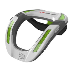 EVS YOUTH R4K Koroyd Neck Protector - White / Green