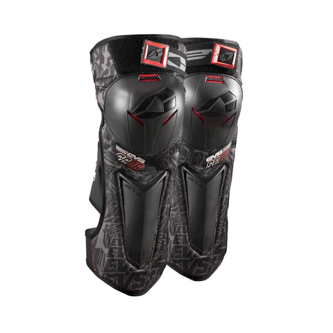 EVS Motocross Body Protection M EVS Adult SC06 Knee Guards Pair - Black