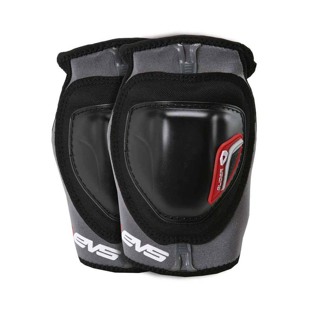 EVS Motocross Body Protection S EVS Adult Glider Elbow Guards Pair - Black/Red