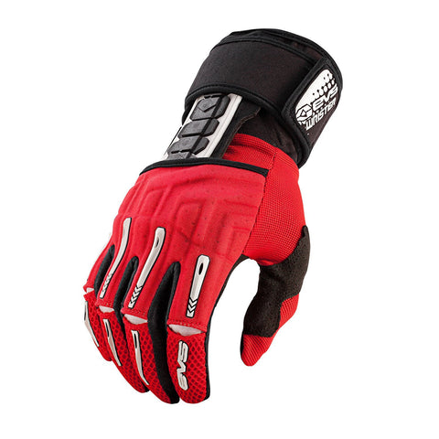 EVS Motocross Body Protection XL EVS Adult Wrister Glove Wrist Brace Pair - Red