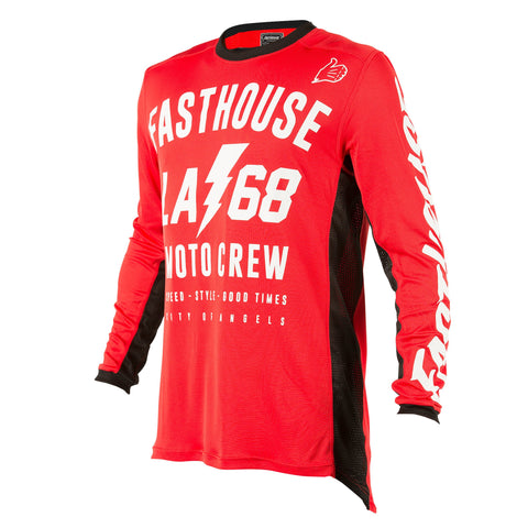 Fasthouse LA68 L1 Air Cooled Adult Jersey Red