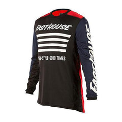 2018 Fasthouse Stripes L1 Jersey Red/Navy