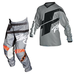 2018 JT Racing YOUTH Flex Hi-Lo MX Motocross Kit Combo - Grey / Black