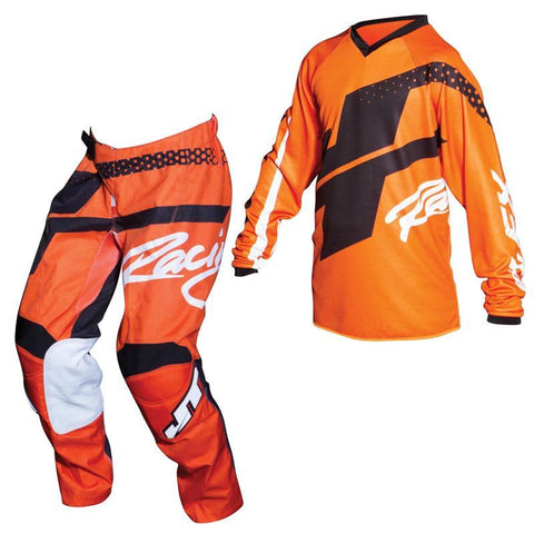 Fly Racing Youth Motocross Kit Combo 2018 JT Racing YOUTH Flex Hi-Lo MX Motocross Kit Combo - Orange / Black