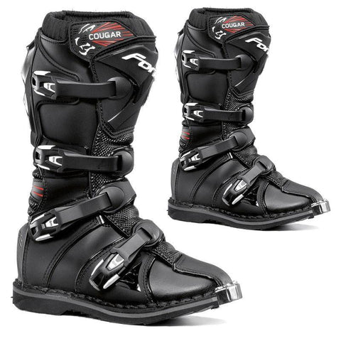Forma Youth Motocross Boots 35 Forma Cougar Kids YOUTH MX Motocross Boots - Black
