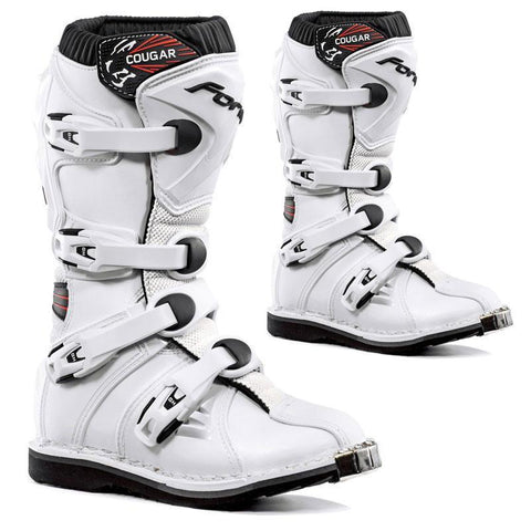 Forma Youth Motocross Boots 35 Forma Cougar Kids YOUTH MX Motocross Boots - White