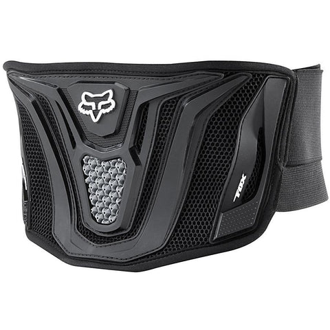 Fox Motocross Body Protection 2018 FOX Blackbelt MX Motocross Kidney Belt - Black / Grey