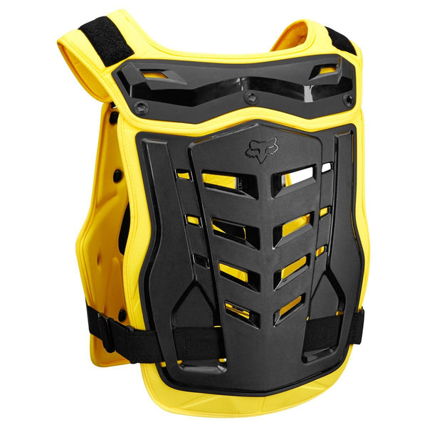 Fox Motocross Body Protection 2018 FOX Proframe LC Roost Deflector CE - Black / Yellow
