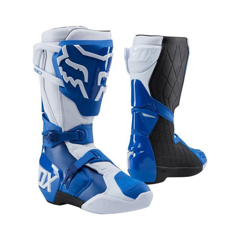 Fox Motocross Boots 7 (41) 2018 FOX 180 MX Motocross Boots - Blue