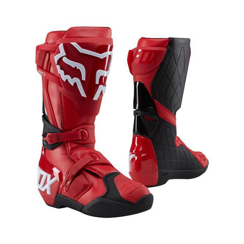 Fox Motocross Boots 7 (41) 2018 FOX 180 MX Motocross Boots - Red