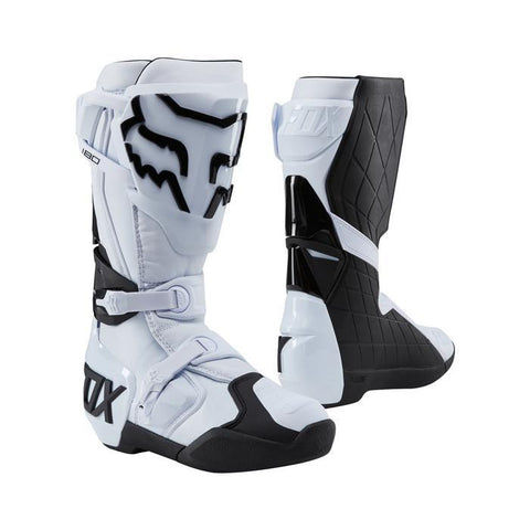 Fox Motocross Boots 7 (41) 2018 FOX 180 MX Motocross Boots - White