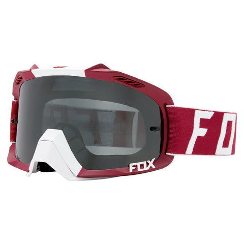 Fox Motocross Goggles 2018 FOX Air Defence Preest MX Motocross Goggles - Dark Red